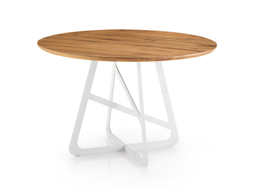 Round oak table PASSION - Oliver B.