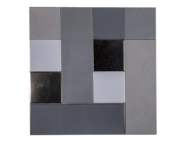 Indoor faïence wall tiles PATCHWORK MO.DE. | PM3 by Danilo Ramazzotti