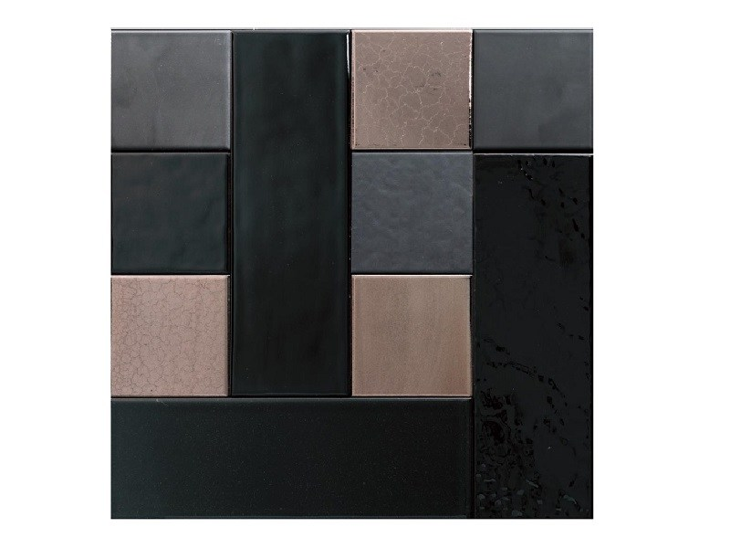 Indoor faïence wall tiles PATCHWORK | PA3 by Danilo Ramazzotti