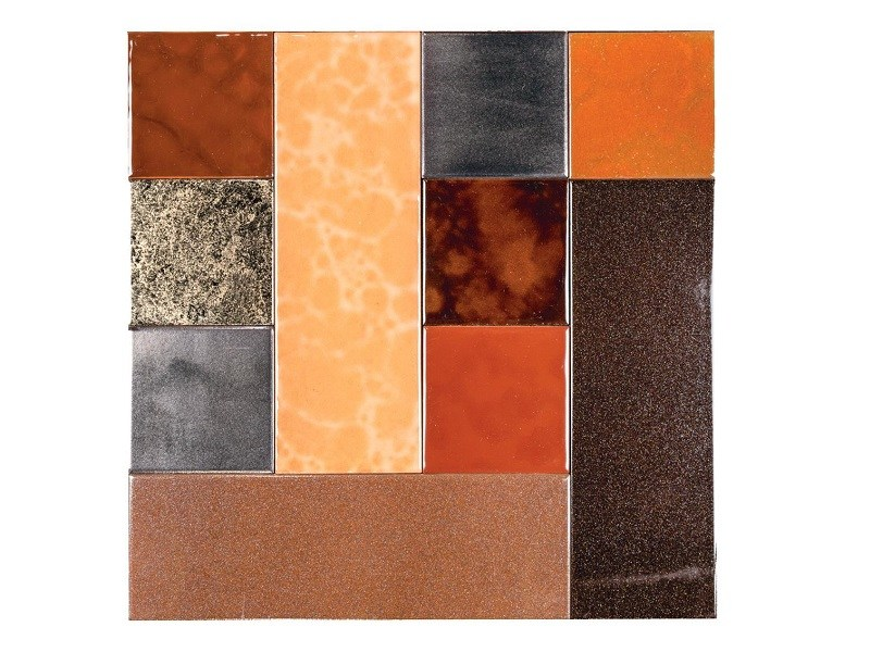 Indoor faïence wall tiles PATCHWORK | PA5 by Danilo Ramazzotti