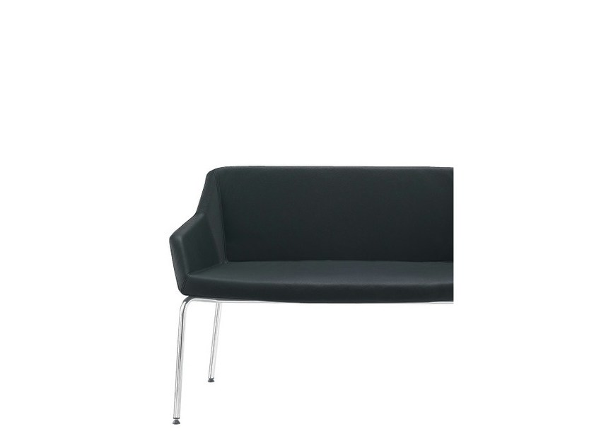 Fabric small sofa PAUL | Small sofa - Sesta