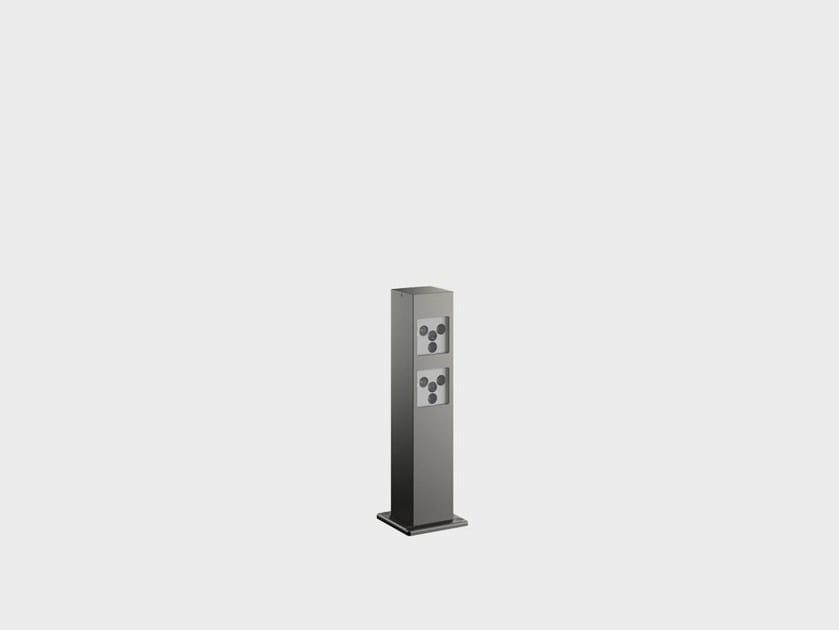 Paletto luminoso a LED in alluminio PAULE SYSTEM IB - Cariboni group