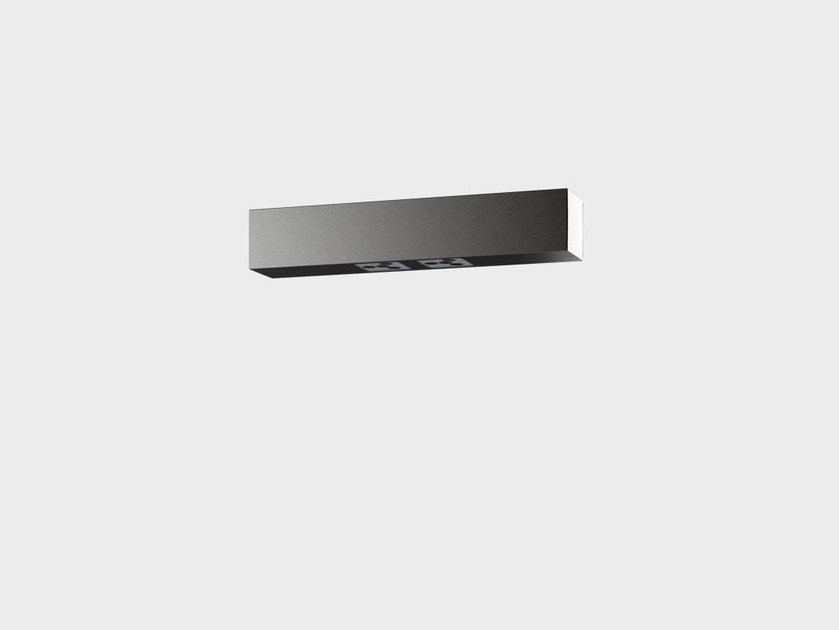 Lampada da parete a LED in alluminio PAULE SYSTEM IP - Cariboni group