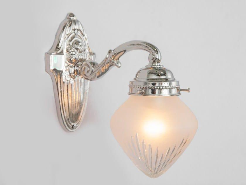 Direct light nickel wall lamp PECS I   Nickel wall lamp - Patinas Lighting