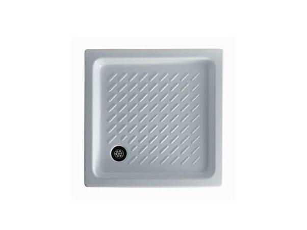 Anti-slip square shower tray PEGASO - GALASSIA