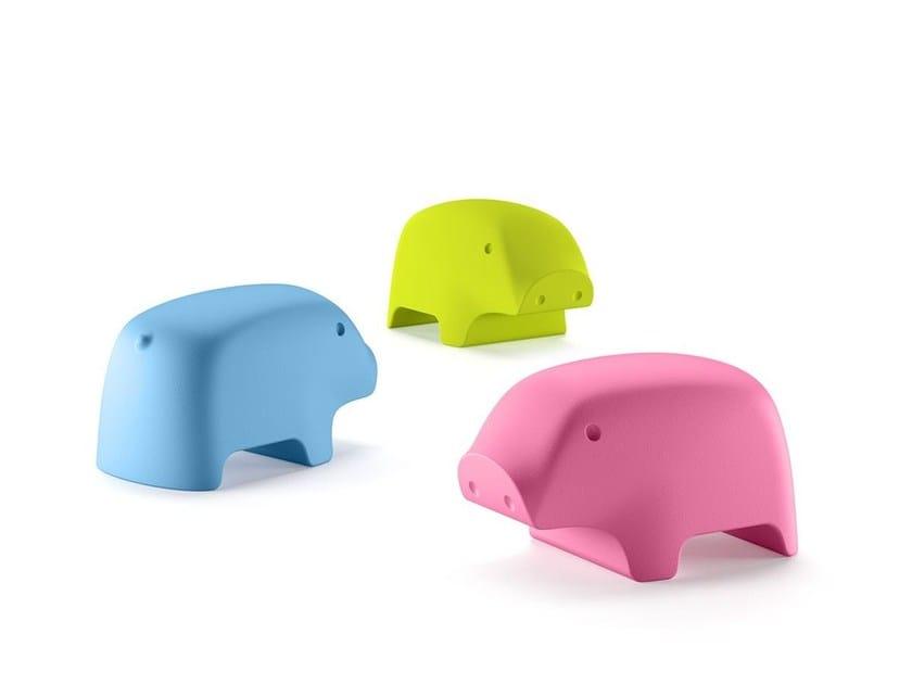 Polyethylene decorative object PEGGY by Plust