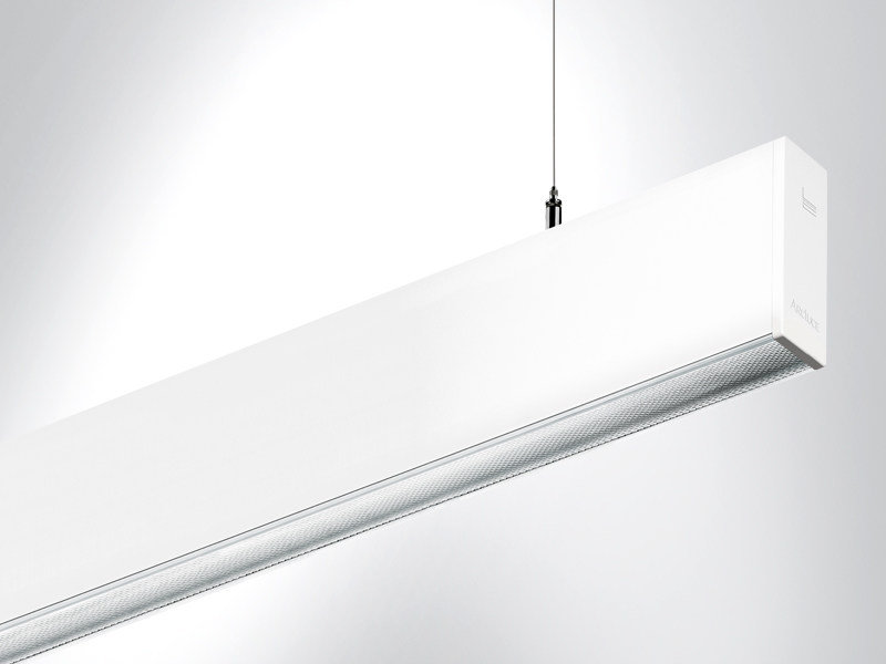 LED extruded aluminium pendant lamp RIGO   Pendant lamp - Arcluce