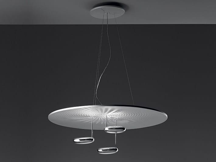 Indirect light die cast aluminium pendant lamp DROPLET | Pendant lamp by Artemide