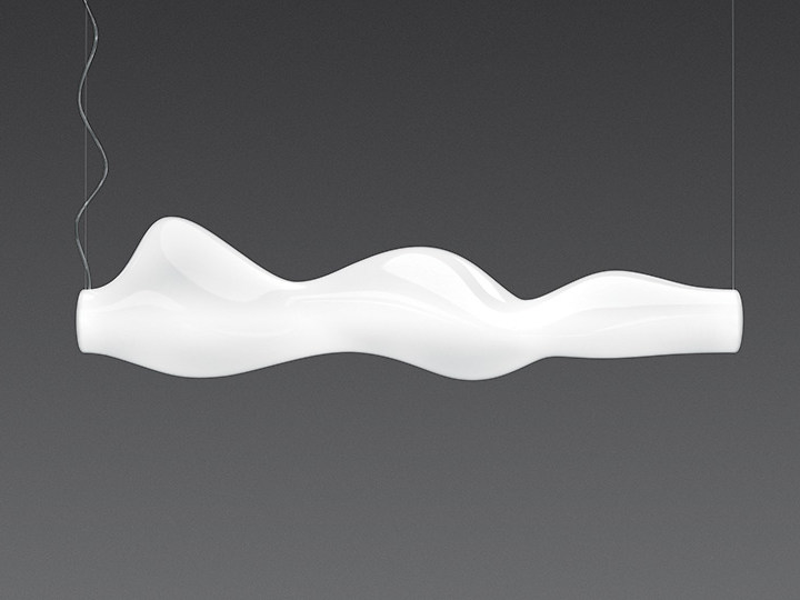 Lampada a sospensione fluorescente in polietilene EMPIRICO | Lampada a sospensione - Artemide