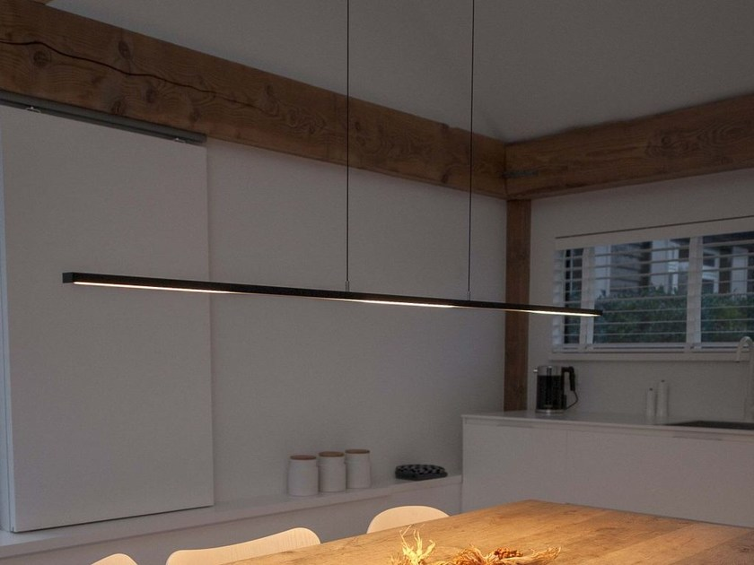 LED aluminium pendant lamp with dimmer S.O.L. | Pendant lamp - FERROLIGHT DESIGN