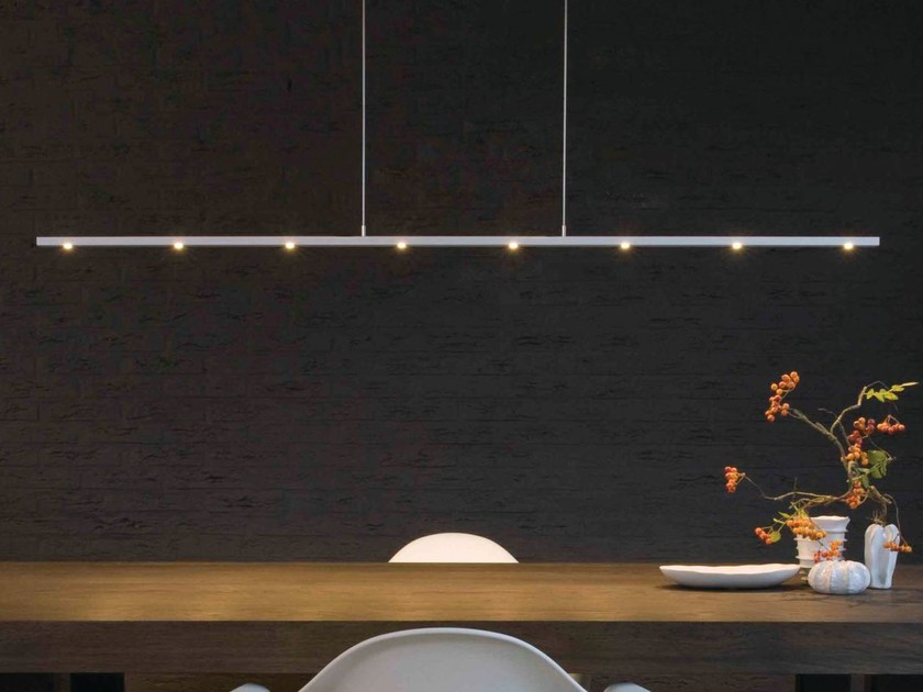 LED aluminium pendant lamp with dimmer ULTIMO | Pendant lamp by FERROLIGHT DESIGN