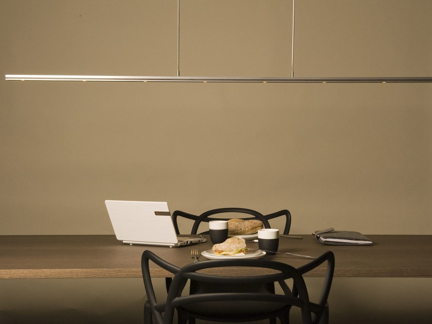 LED direct light aluminium pendant lamp with dimmer B.E.S. | Pendant lamp - FERROLIGHT DESIGN
