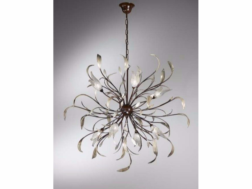 Direct-indirect light chandelier ALLORO | Pendant lamp - IDL EXPORT