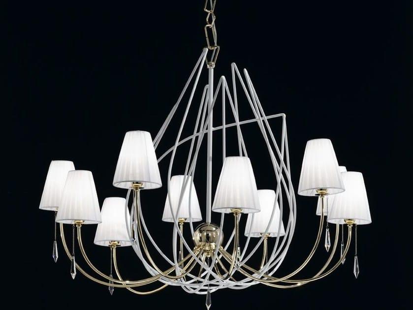 Organza chandelier FLAME | Chandelier - IDL EXPORT