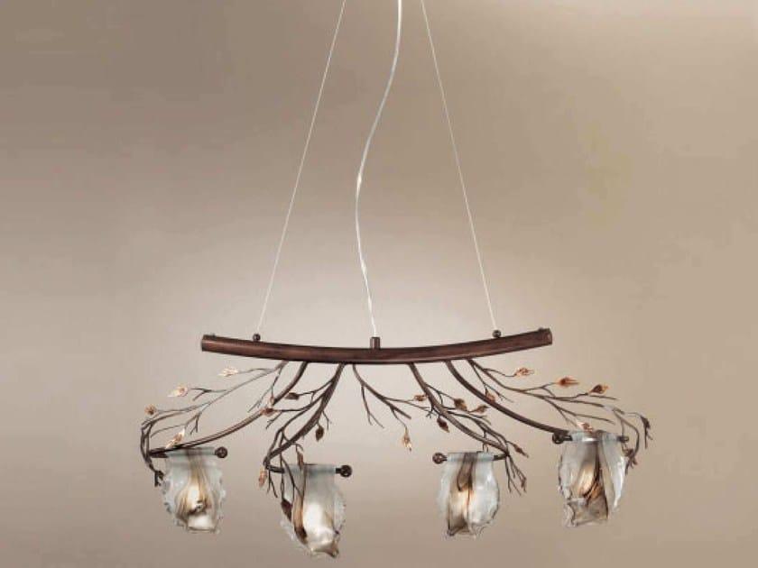 Direct light chandelier FLORA   Pendant lamp - IDL EXPORT