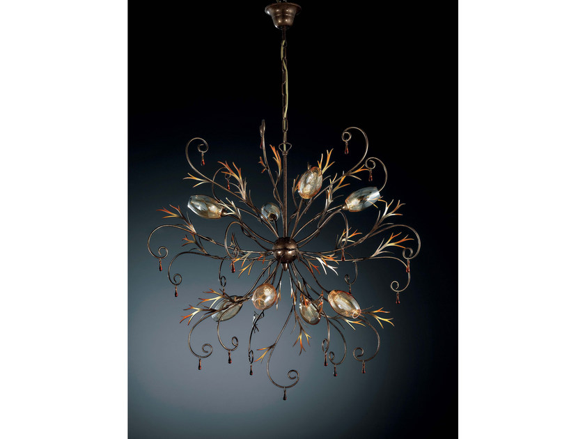 Direct-indirect light pendant lamp GOCCIA | Pendant lamp - IDL EXPORT