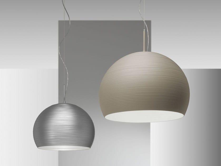 Direct light metal pendant lamp ISCHIA | Pendant lamp by IDL EXPORT