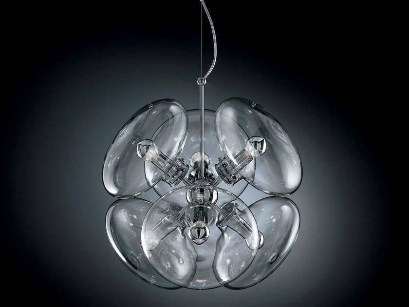 Direct light Pyrex® pendant lamp MOIRA | Pendant lamp - IDL EXPORT