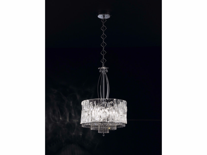 Pendant lamp with Swarovski® Crystals CRYSTAL BLADE | Pendant lamp - IDL EXPORT