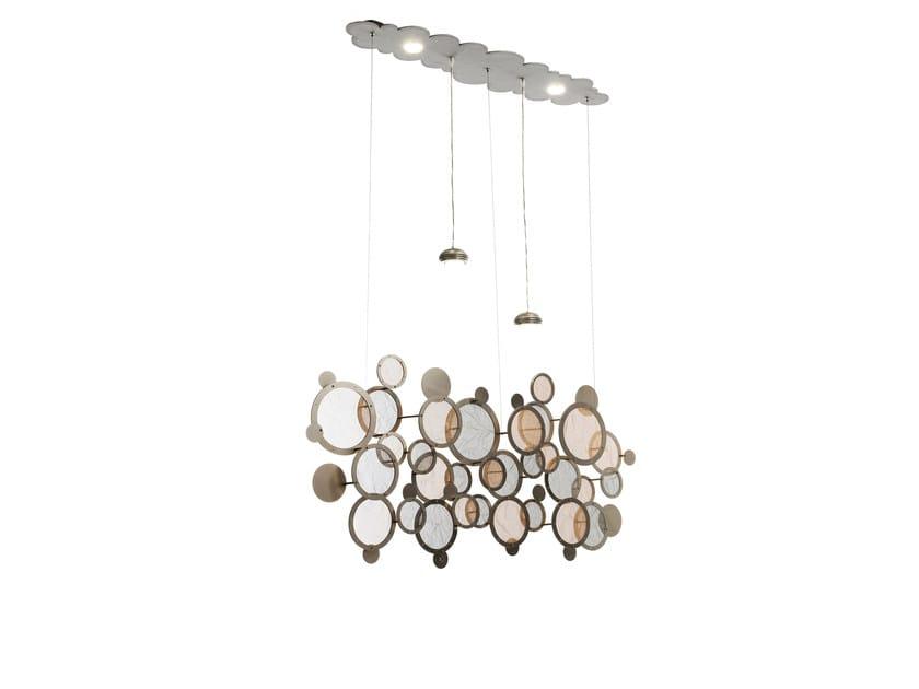 Metal pendant lamp CHARLESTON | Pendant lamp - IDL EXPORT