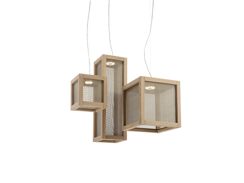 Oak pendant lamp WOODY | Pendant lamp by IDL EXPORT