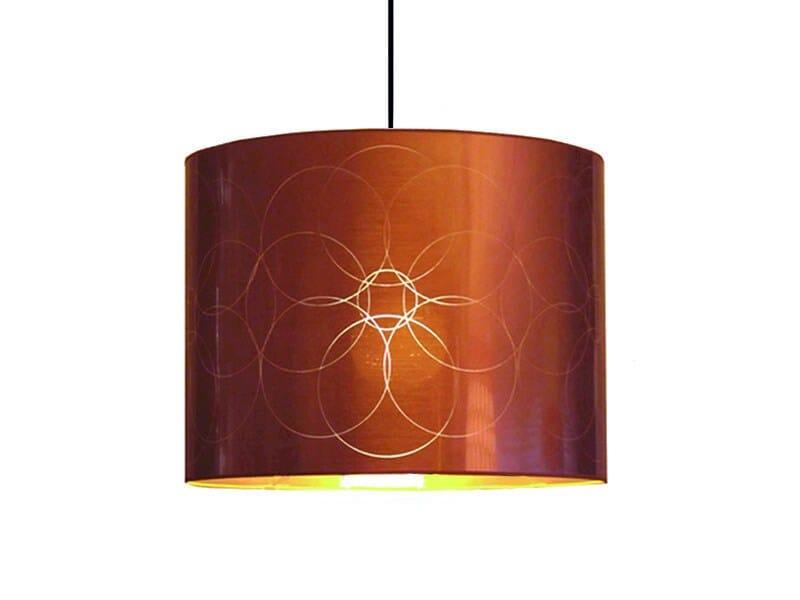 PVC pendant lamp / lampshade FLOWER | Pendant lamp - Kappennow