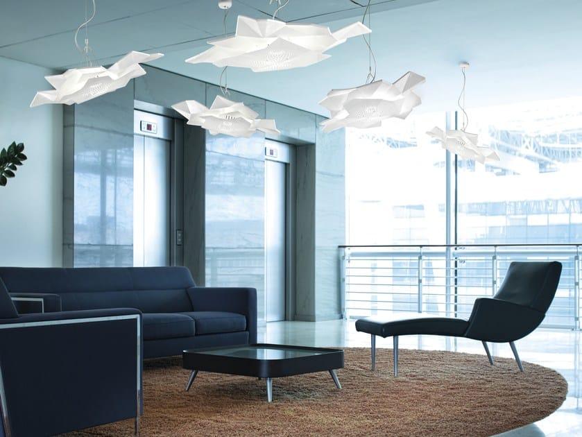 LED ceramic pendant lamp SIERRA | Pendant lamp - Metal Lux di Baccega R. & C.