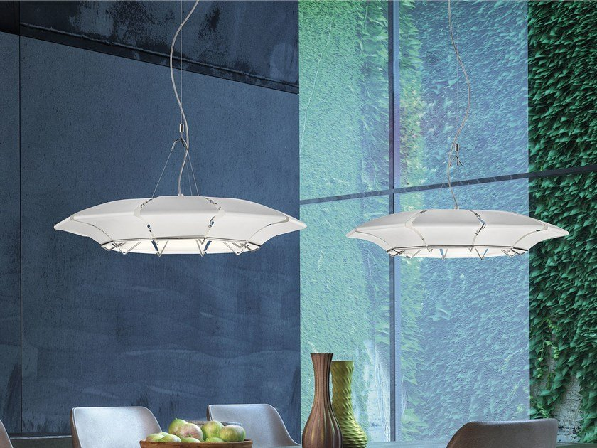 LED plate pendant lamp CLOVY | Pendant lamp by Metal Lux