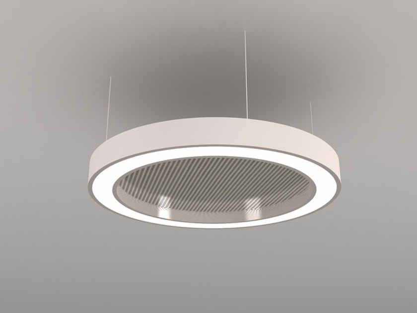 Hanging acoustical panels / pendant lamp NCM LA D600-900-1200FA | Pendant lamp - Neonny