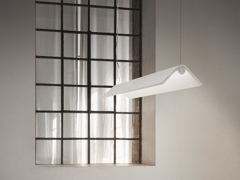 LED pendant lamp TURN | Pendant lamp - Olev by CLM Illuminazione