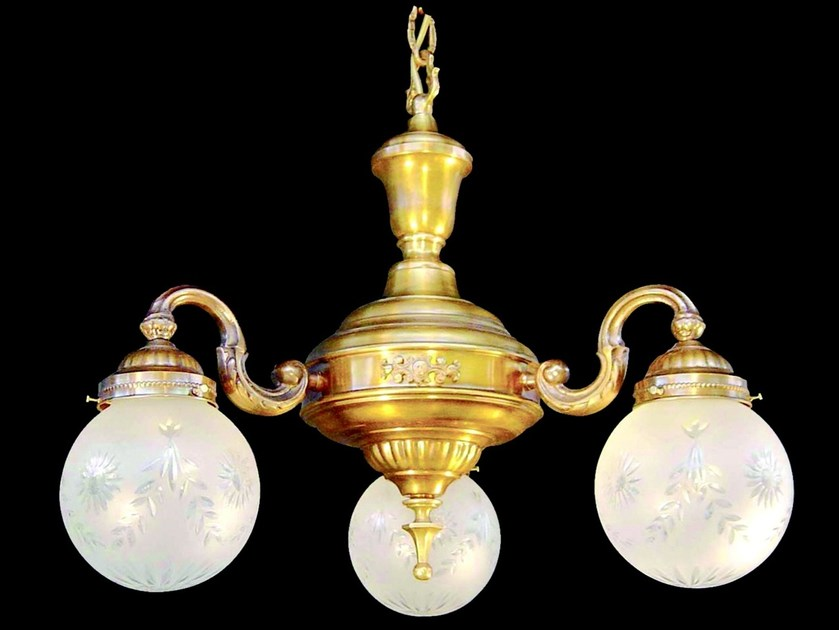 Direct light handmade brass pendant lamp GYOR | Pendant lamp by Patinas Lighting