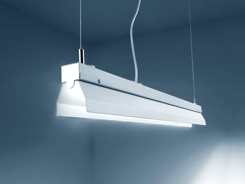 LED direct light steel pendant lamp PENCIL   Pendant lamp by PLEXIFORM