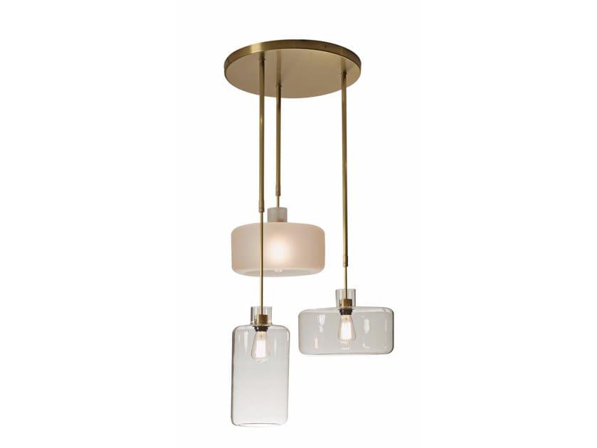 Nacelle lampada a sospensione collezione nacelle by roche bobois design les h - Suspension roche bobois ...