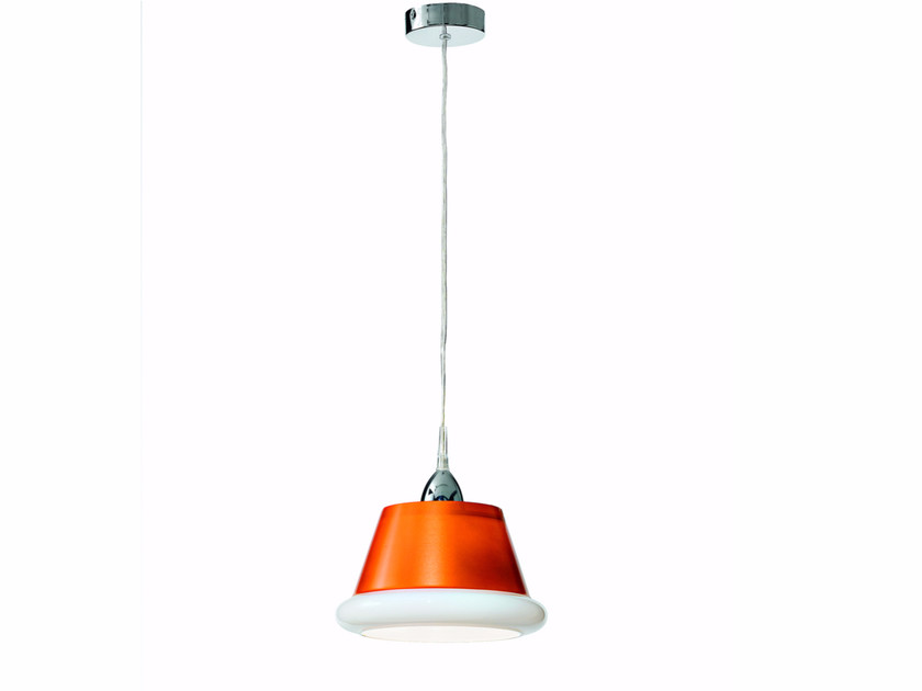 Blown glass pendant lamp ANITA | Pendant lamp - ROSSINI ILLUMINAZIONE