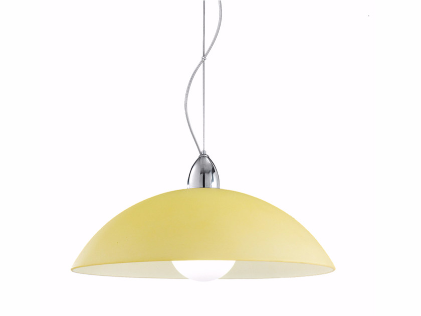 Satin glass pendant lamp KALERI | Pendant lamp - ROSSINI ILLUMINAZIONE