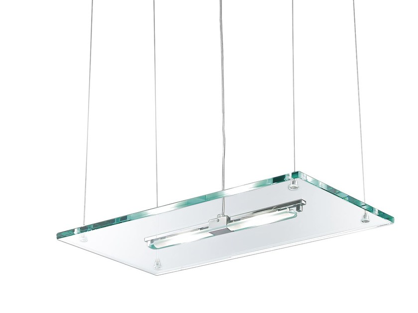 Lampada a sospensione in Pyrex® ACABA | Lampada a sospensione - ROSSINI ILLUMINAZIONE