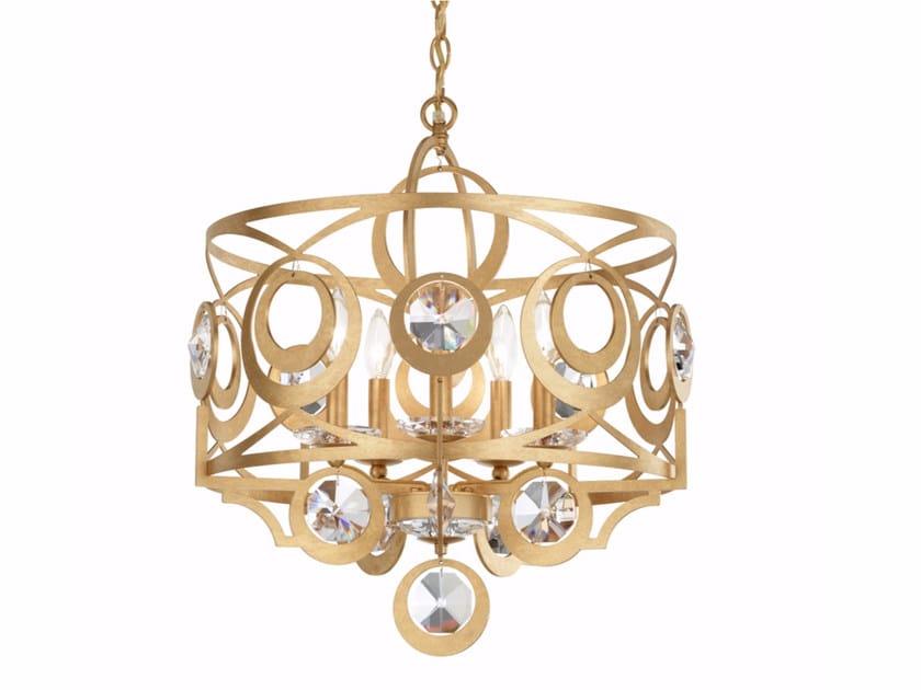 Pendant lamp with Swarovski® Crystals GWYNN | Pendant lamp by Schonbek