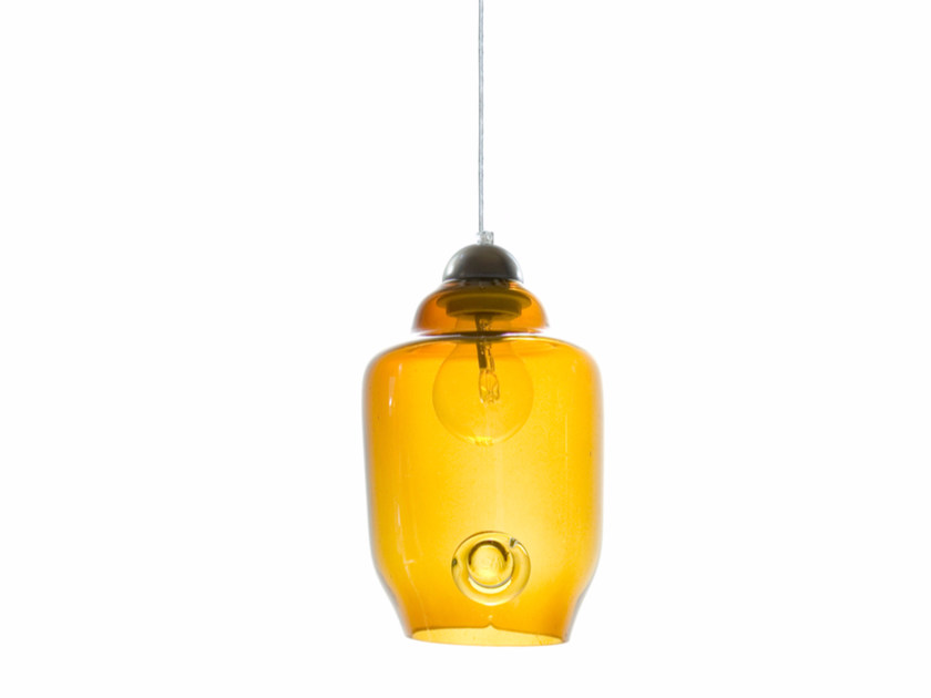 Stained glass pendant lamp LGH0060 - 062 by Gie El Home