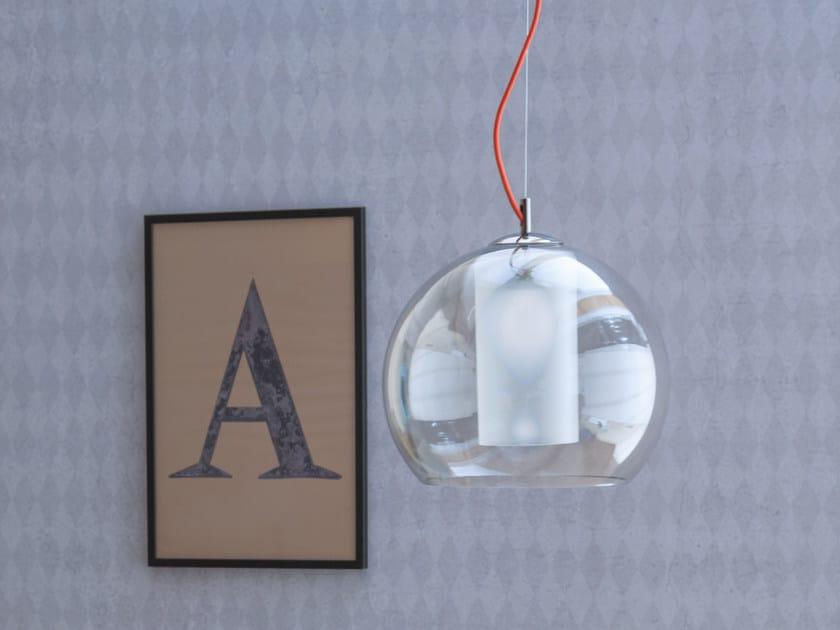 Murano glass pendant lamp IRIDE | Pendant lamp by Tonin Casa