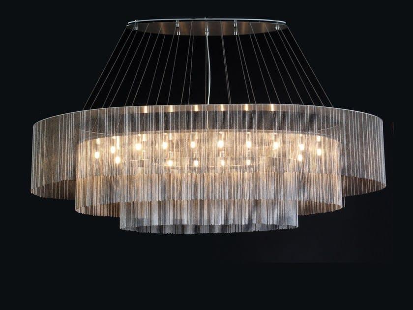 Pendant lamp ELLIPTICAL 3 TIER | Pendant lamp by Willowlamp