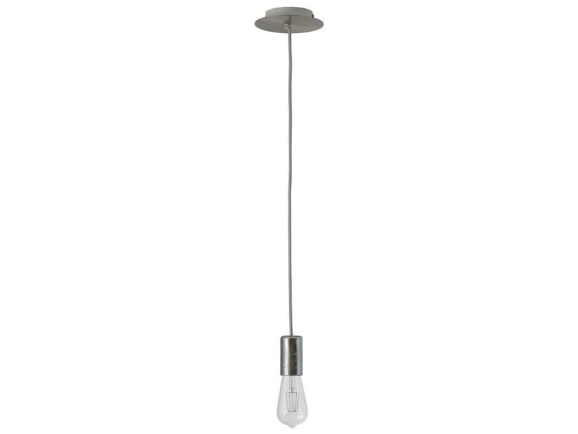Metal pendant lamp PENDEL B - Hind Rabii