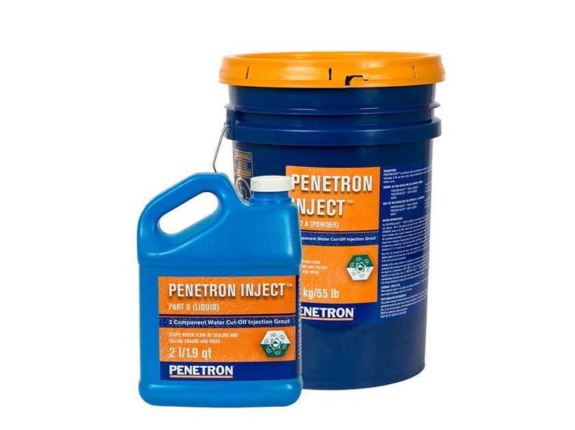 Additive and resin for waterproofing PENETRON INJECT® - PENETRON ITALIA