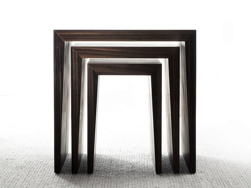 Wooden side table PENSAMI | Side table by ERBA ITALIA