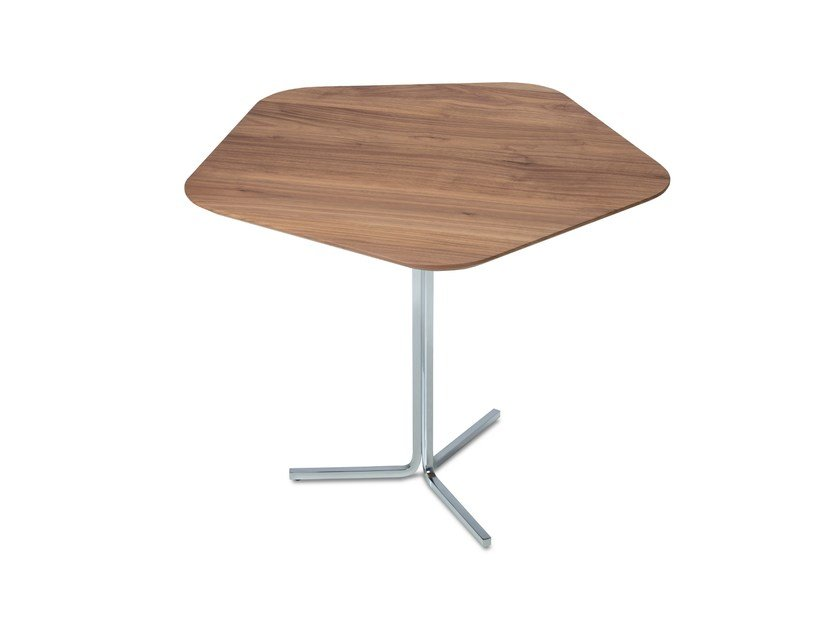 Wooden side table PENTAGONO | Side table - Jori