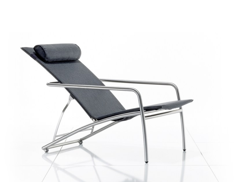 Sedia a sdraio reclinabile con braccioli PENTHOUSE | Sedia a sdraio - solpuri
