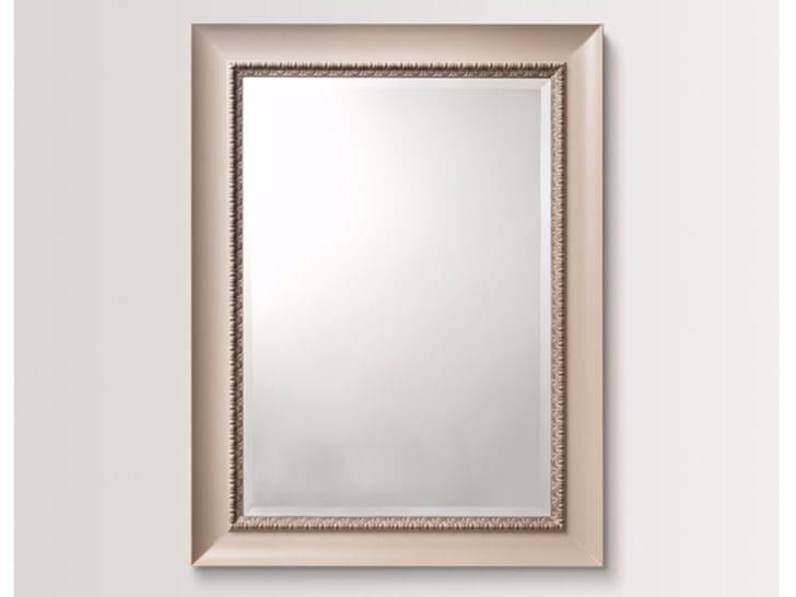 Rectangular wall-mounted framed mirror PEONY - BATH&BATH
