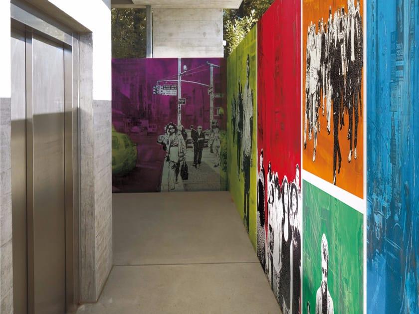 Pop art wallpaper PEOPLE by Inkiostro Bianco