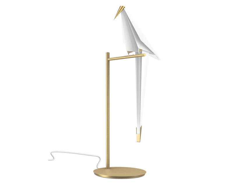 Metal table lamp PERCH LIGHT | Table lamp - Moooi©