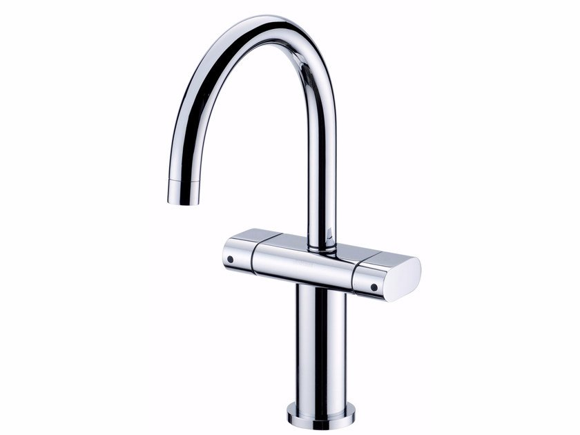 Countertop single handle chromed brass kitchen mixer tap PERFECTO | Kitchen mixer tap - JUSTIME