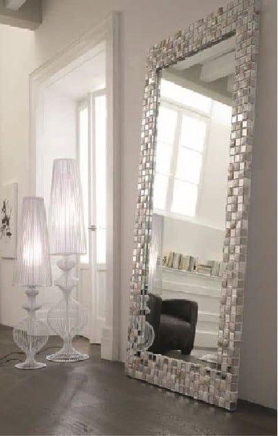Framed mirror PERLA - ELITE TO BE